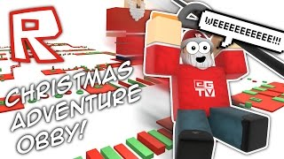 getlinkyoutube.com-CHRISTMAS ADVENTURE OBBY!!! | Roblox