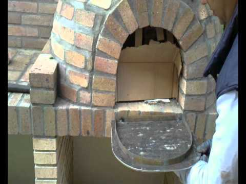 puerta horno artesanal
