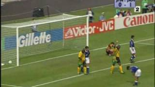 FIFA World Cup 1998: Goal Highlights from Jamaica vs. Japan