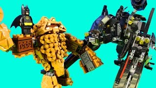 getlinkyoutube.com-Lego The Batman Movie Clayface Splat Attack And Scuttler Come To The Mayor's Rescue