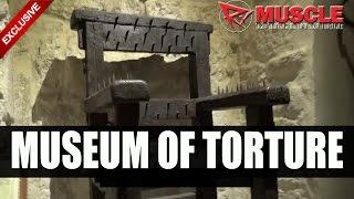 getlinkyoutube.com-Dave Palumbo visits the torture museum in San Marino! Gradara Castle!