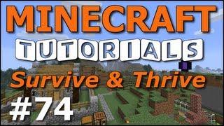 getlinkyoutube.com-Minecraft Tutorials - E74 Wither Boss (Survive and Thrive Season 4)
