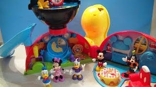 getlinkyoutube.com-MICKEY MOUSE CLUBHOUSE PLAYSET VIDEO TOY REVIEW BY MITCHSANTONA