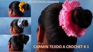 getlinkyoutube.com-carmin tejido a crochet paso a paso modelo # 1