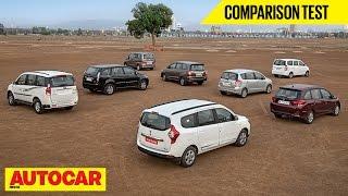getlinkyoutube.com-Lodgy VS Mobilio VS Innova VS Ertiga VS Xylo VS Aria VS Evalia VS Enjoy | Autocar India