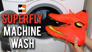 getlinkyoutube.com-What happens when you put the Superfly boots in the Washing Machine?