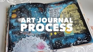 Art Journal Page Process (03)