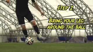 getlinkyoutube.com-Learn Amazing Football Skill Tutorial (with steps) / Aprender increíbles regates (con pasos)