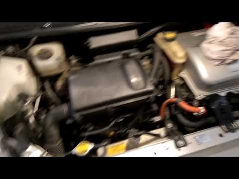 Чистка дроссельной заслонки и т.д. Prius NHW20 - часть 6