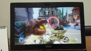 getlinkyoutube.com-MSI GT62VR 6RE Dominator Pro, OverWatch Game Play