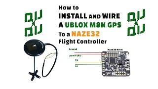 getlinkyoutube.com-How to setup a Holy Bro M8N GPS compass unit with a Naze32 flight controller running Cleanflight.