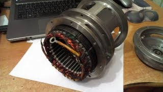 getlinkyoutube.com-Генератор на постоянных магнитах своими руками.