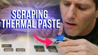 Is Intel's Thermal Paste ACTUALLY That Bad?