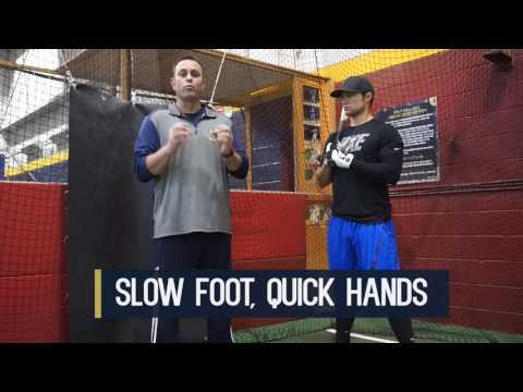 Baseball Hitting Secrets - Proper Front Foot Movement Drill