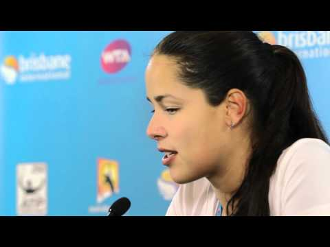 Ana Ivanovic First Round Press Conference: Brisbane International 2012