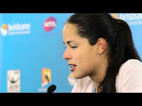 Ana Ivanovic First Round Press Conference: Brisbane International 2012