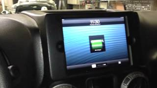 getlinkyoutube.com-2012 Jeep Wrangelr iPad mini install