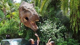 getlinkyoutube.com-Jurassic World Ride Front Seat POV FPV - Universal Studio Orlando