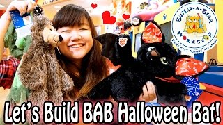 getlinkyoutube.com-Let's Build Build-A-Bear Halloween Collection Bat - BAB Workshop