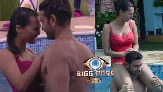 getlinkyoutube.com-Big Boss 9 | Rishabh & Andy Forced Rochelle & Keith To Do Seducing Dance In Pool