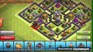 getlinkyoutube.com-Clash of clans | Villaggio municipio livello 8 farming + Volanò