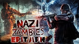 """Custom Zombies on Epitaph """"Hitler's Tomb?"""" (Live Commentary/Gameplay)"""