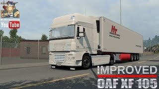 getlinkyoutube.com-[ETS2 v1.26] DAF XF 105 v1.4.1 + Cabin & Flag DLC´s ready