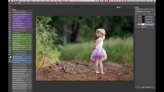 getlinkyoutube.com-Adding Rich Blur / Bokeh and Deep Color in Photoshop