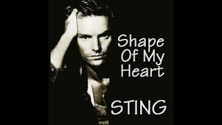 SHAPE OF MY HEART - STING Karaoke