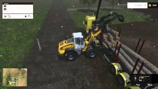 getlinkyoutube.com-Farming Simulator 15 - Logging - Westbridge Hills - 1