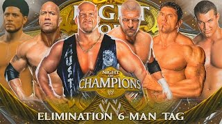 Will Power, The Rock & Stone Cold vs. Evolution! (WWE 2K15 Tag-Team)