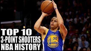 getlinkyoutube.com-Top 10 Best 3 Point Shooters in NBA History