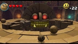getlinkyoutube.com-Pac-Man & the Ghostly Adventures Part 6 - World 2 Ruins - Temple of Slime & Ruined Maze
