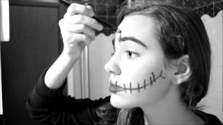getlinkyoutube.com-Make Up Halloween -Semplice Trucco Halloween