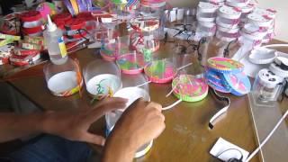 getlinkyoutube.com-Amor y amistad 2013 - San Valentin, elaborando cajitas en acetato para vender.-