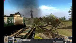 getlinkyoutube.com-MEN OF WAR (PC): Patton Vs. Zhukov - May 13th 1945 (Alternate History)