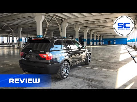 BMW X3 E83 3.0i Visual Styling and Suspension Tuning