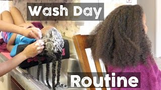 getlinkyoutube.com-Natural Hair ▸ Full Wash Day Routine for Little Girls