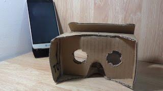 getlinkyoutube.com-كيفية صنع نظارة الواقع الأفتراضي جوجل كارد بورد لهواتف الأندرويد يدويا CardBoard