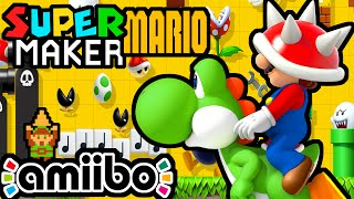 getlinkyoutube.com-Super Mario Maker LIVE Gameplay Walkthrough PART 11 ( Link Amiibo, Challenges, Viewer Levels) Wii U