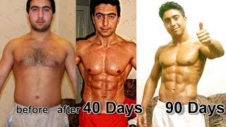 getlinkyoutube.com-My 40 days Crazy Transformation STEROID FREE I Farid Berlin 2