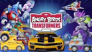 getlinkyoutube.com-Angry Birds Transformers (by Rovio Entertainment Ltd) - iOS / Android - Walkthrough - Part 1