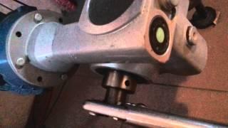 getlinkyoutube.com-Wymiana zerwanej zawleczki w podajniku ślimakowym przy kotle na ekogroszek.