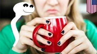 getlinkyoutube.com-رجل يخلط حليبه بقهوة زميلته في العمل