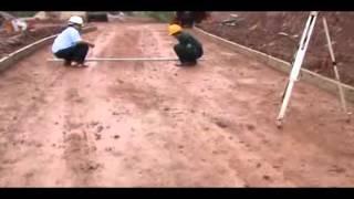 Giới thiệu kỹ thuật đổ bê tông đường tuần tra biên giới - phần 1