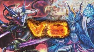 getlinkyoutube.com-Cardfight!! Vanguard: Nubatama ( Rikudo Stealth Dragon Gedatsurakan ) vs Genesis ( Vanargandr )