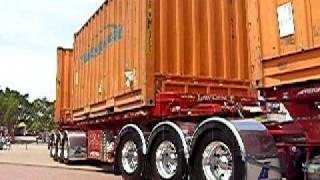 getlinkyoutube.com-T604 Kenworth tow truck with T900 Kenworth B-triple