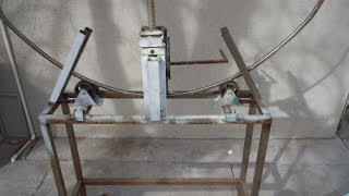 getlinkyoutube.com-Maquina dobladora de tubos