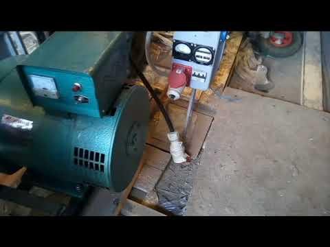 Дизельный генератор 10 кВт - 400В 3 фазы
