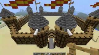 getlinkyoutube.com-Постройки в Minecraft - Испанский форт